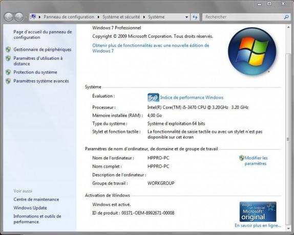 PC Gamer HP Pro 3500 i5 photo 4