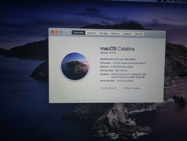 Macbook pro mid-2012 i7 15' photo 1