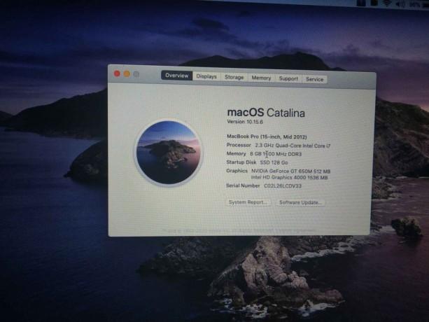 Macbook pro mid-2012 i7 15' photo 5