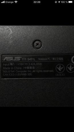 Asus s451L 14 pouce photo 1