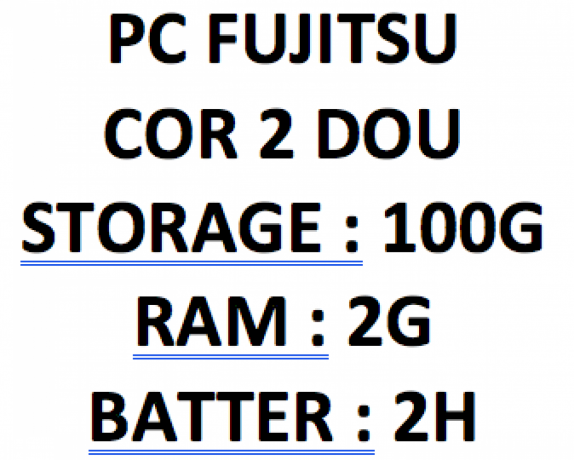 PC Fujitsu photo 4