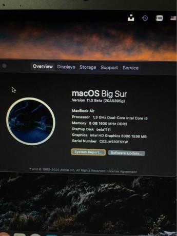 Macbook Air 11-inch 2013 photo 0