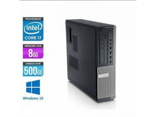 PC bureau dell i7 à vendre