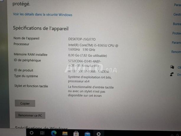 Dell Latitude 5400 14 Core i5 8265U - 8Go 256Go photo 3