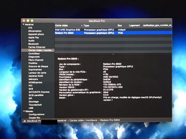 Macbook Pro 15 i9 2.4Ghz 2019 photo 5