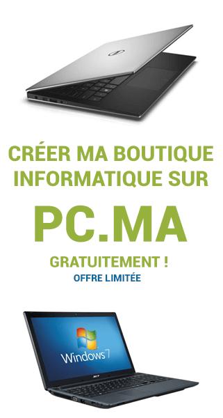 creer une boutique de vente de pc et ordinateur au maroc